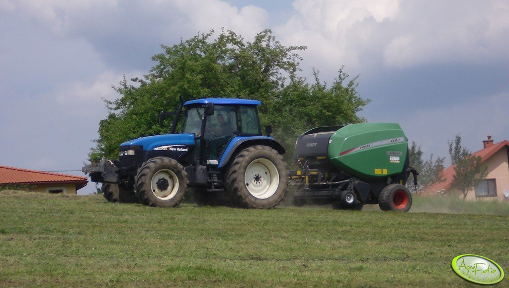 NH TM120 + Fendt 2250F