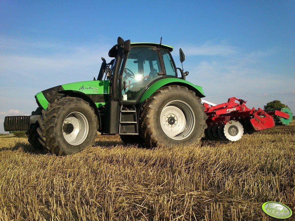 Deutz-Fahr Agrotron 140 + Kverneland Qualidisc 3000