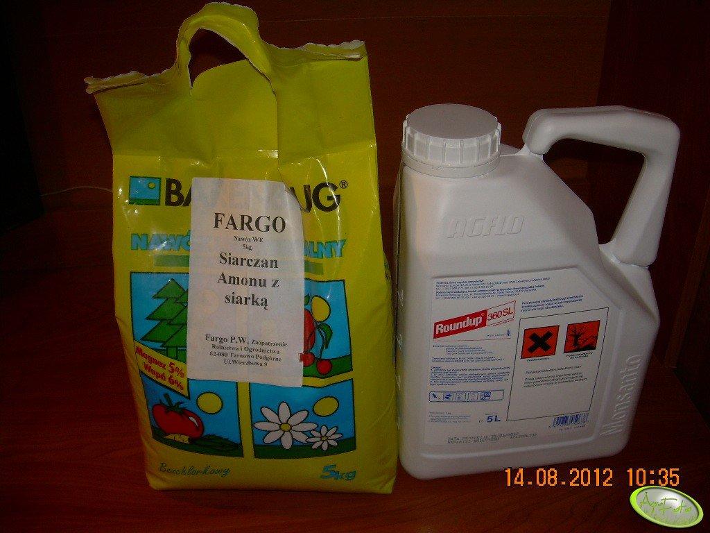 Roundup i siarczan amonu