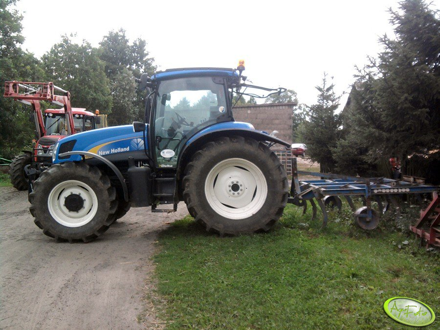 NH T6030 + gruber 2,6m