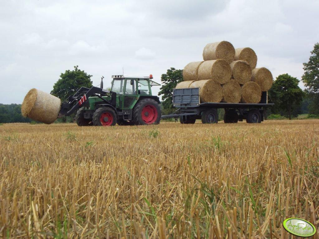 Fendt Farmer 306 LSA + Mailleux i Sanok D-50