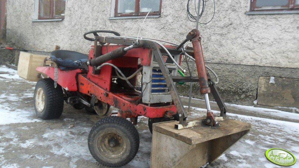 Traktorek + tur