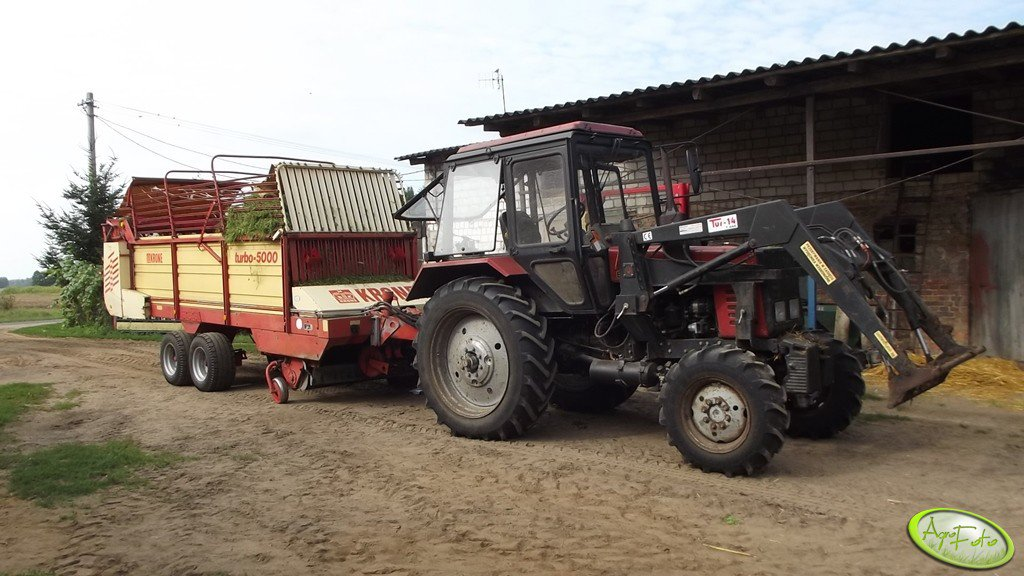 Mtz Belarus 820 i Krone