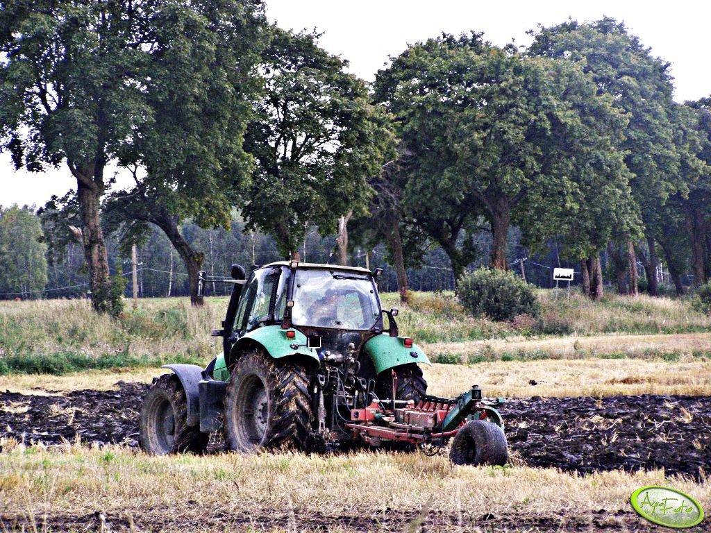 Deuty Fahr Agrotron + Kverneland BB 100