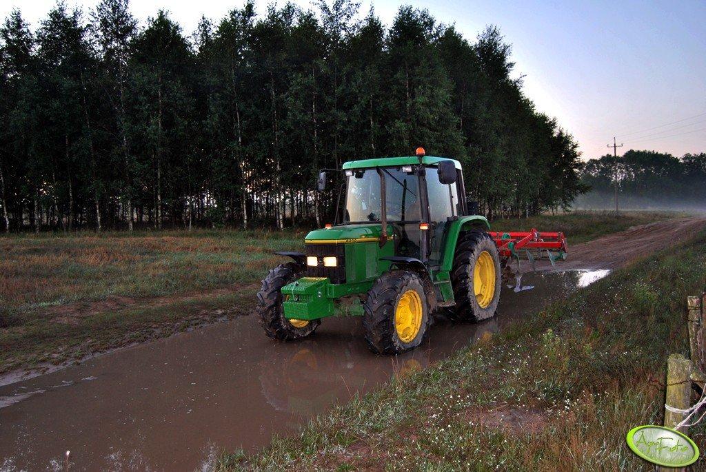 John Deere 6200 + Gruber AgroMasz 2,6m