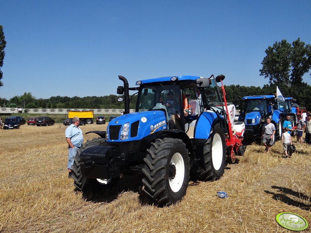 New Holland T6.155 + Kuhn Maxima 2