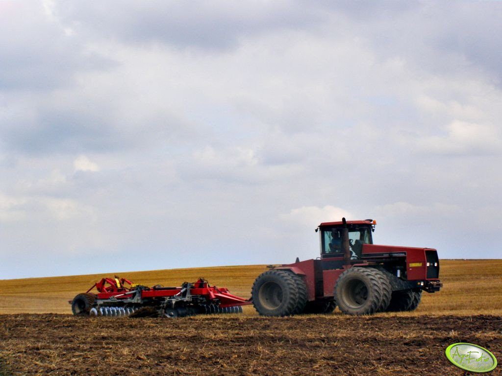 Case IH International + Talerzówka