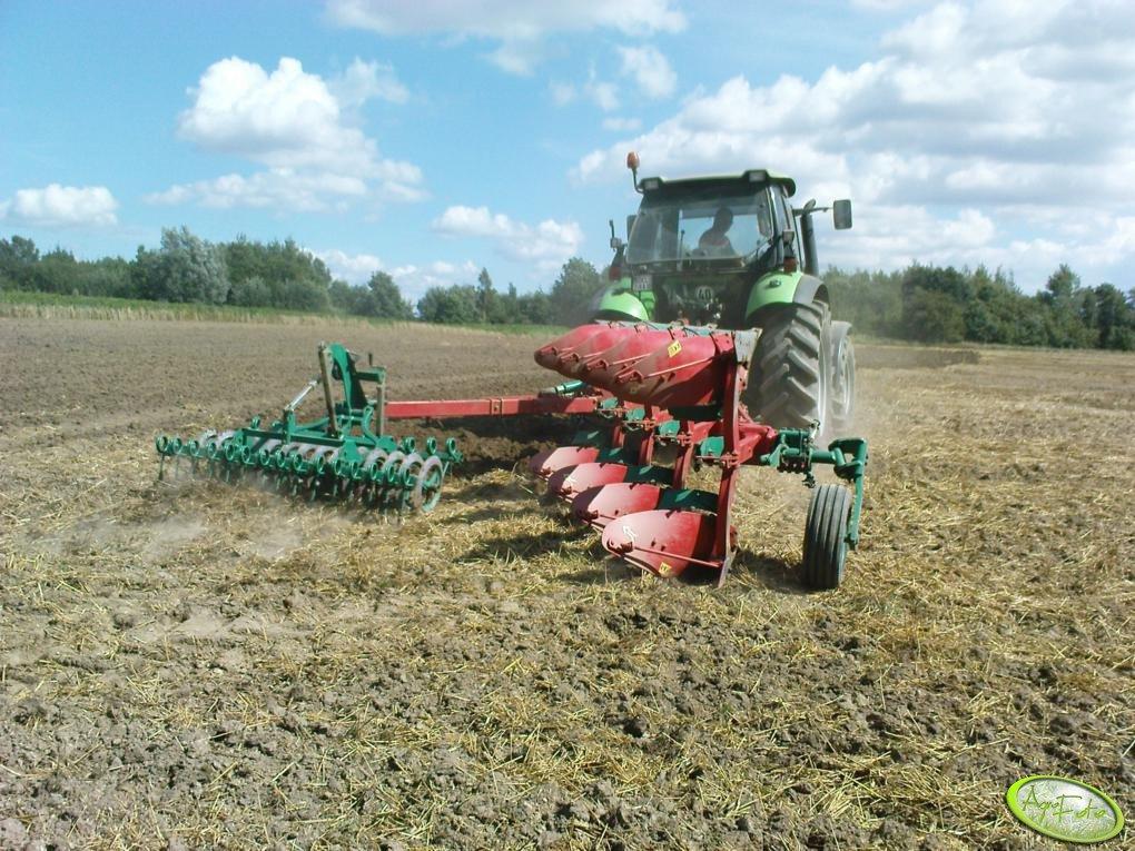 Deutz Fahr Agrotron 130 i Kverneland EM 100