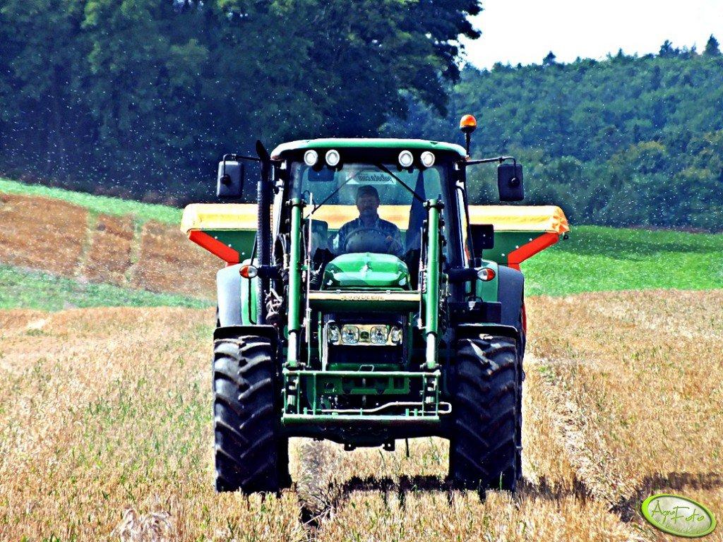 John Deere 6630 + Amazone ZA-M 1501