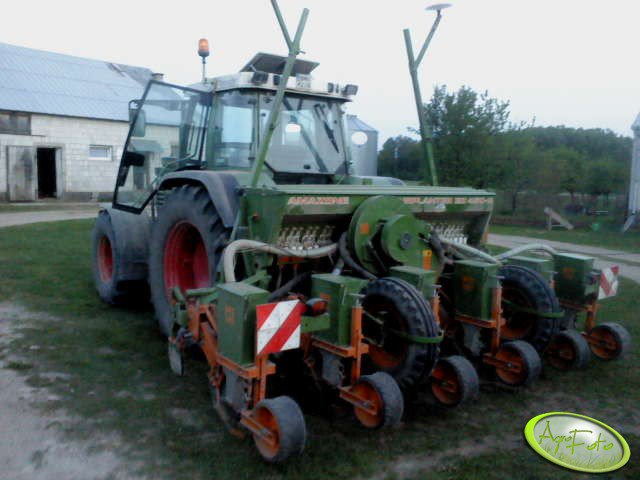 Amazone Airplanter ED 450-K i Fendt 310 turbomatic