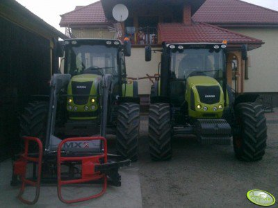 Claas Arion 620 i Arion 430