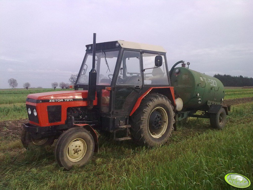 Zetor 7211 & Meprozet T-527