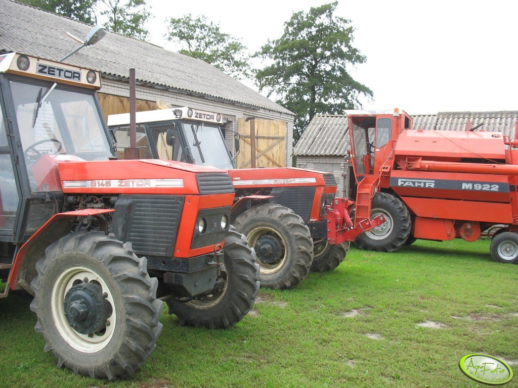 Zetor 8145, Zetor 12145 Turbo, Fahr M922