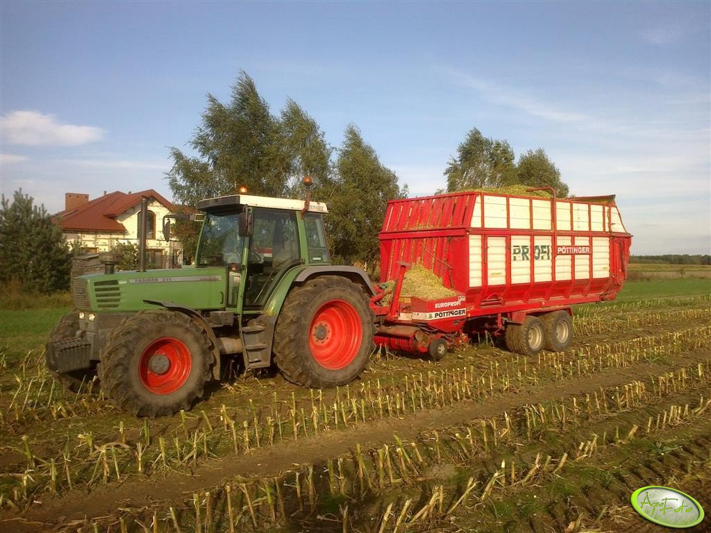 Fendt 311 + Pottinger