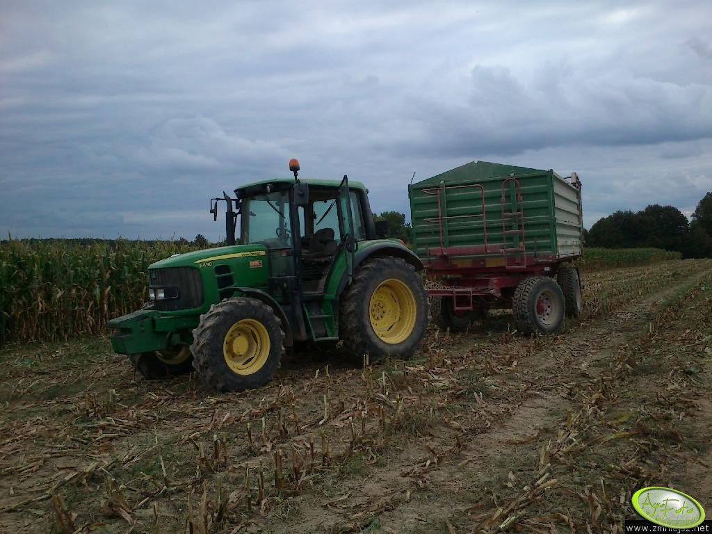 John Deere 6430 + Metal Tech 12