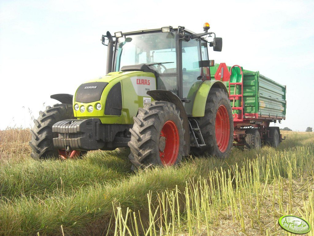 Claas Celtis 436 + Metal Tech DB6000