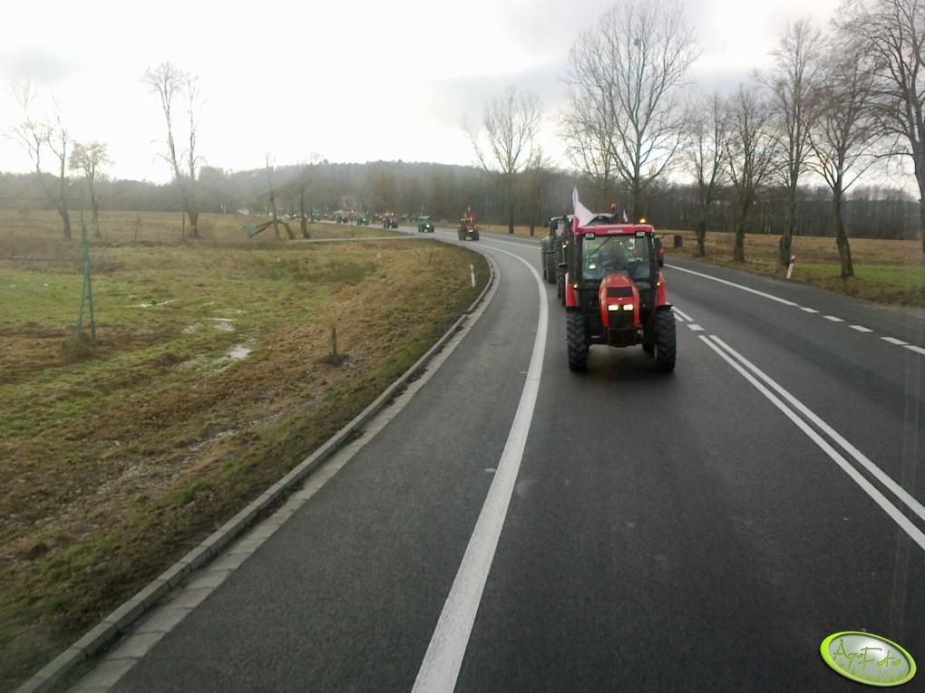 Blokada dróg krajowych nr 6