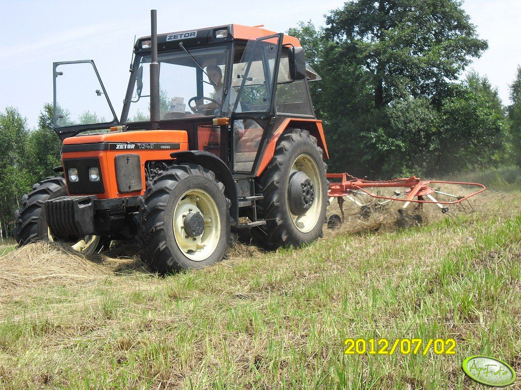 Zetor 7340 turbo + Fahr