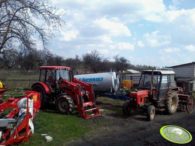 Farmer 9258 TE +  Zetor 7011