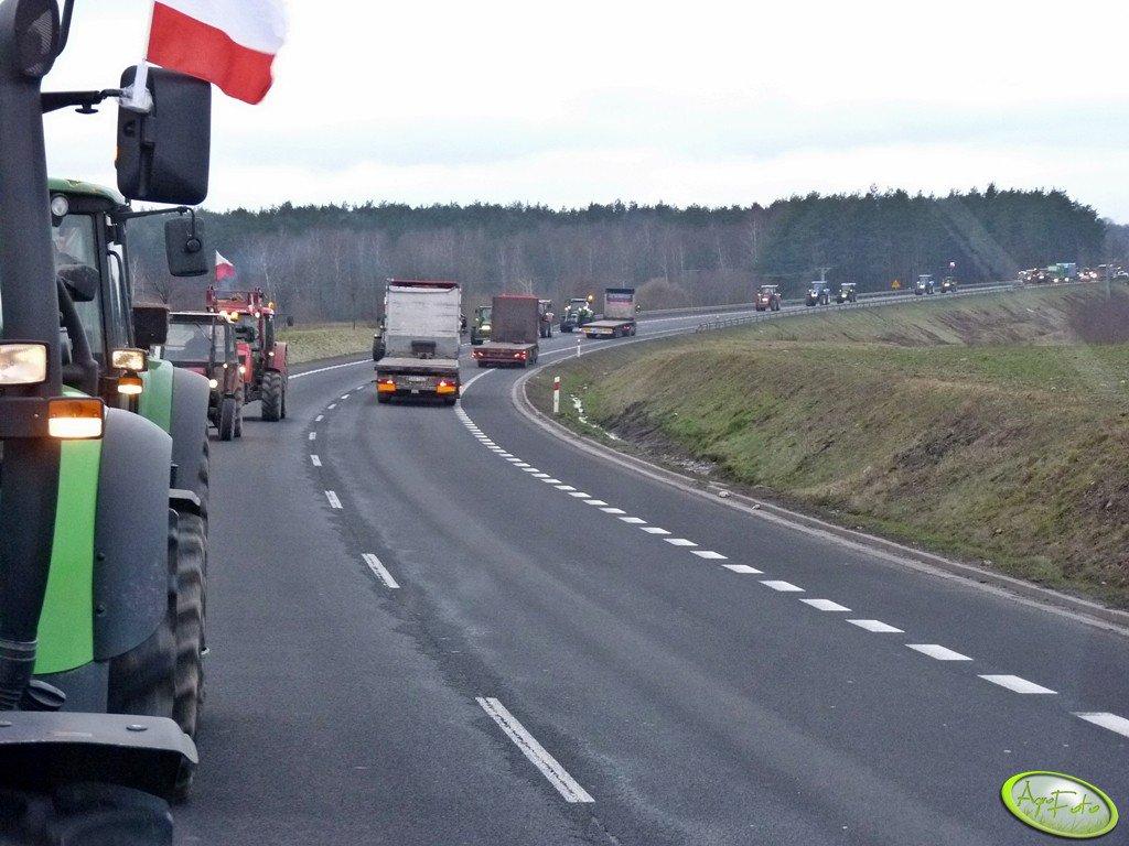 Strajk - Blokada Dróg