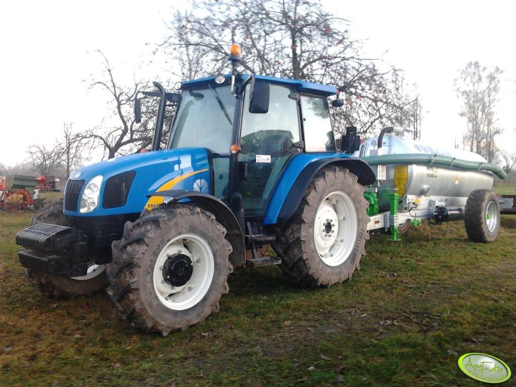 New Holland T5040 & Joskin