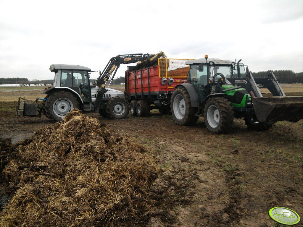 Deutz Fahr Agrofarm 420 i Lamborghini r4 105