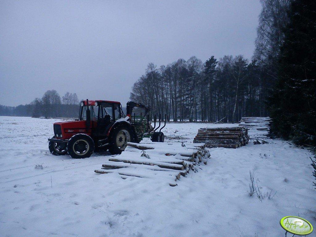 Zetor 9540 & Pd90-Ryś350TH