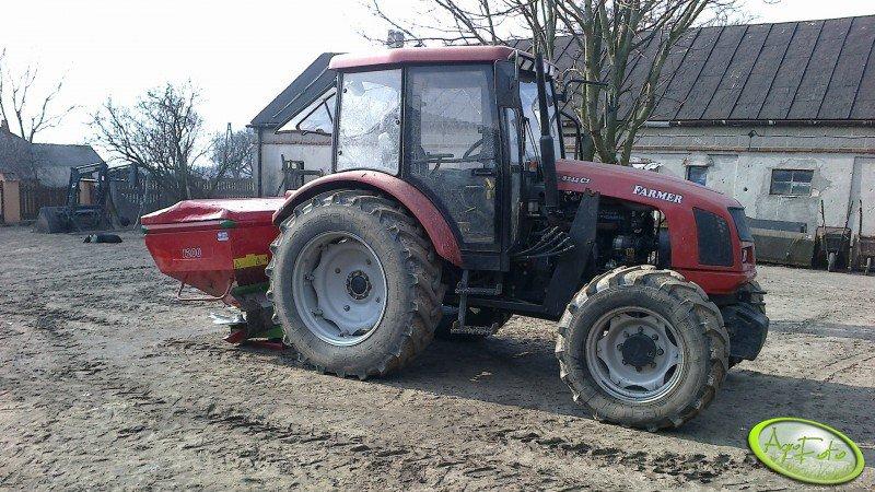 Farmer 8244 C2 + Unia MX 1200