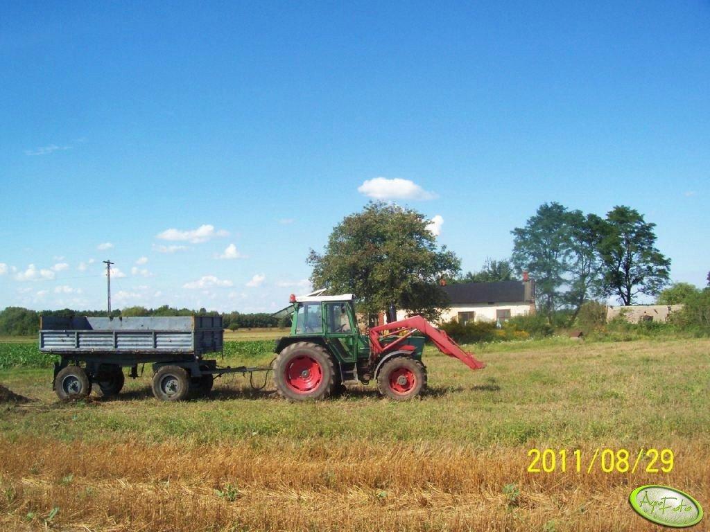 Fendt Farmer 306 LSA i Mailleux +  Przyczepa