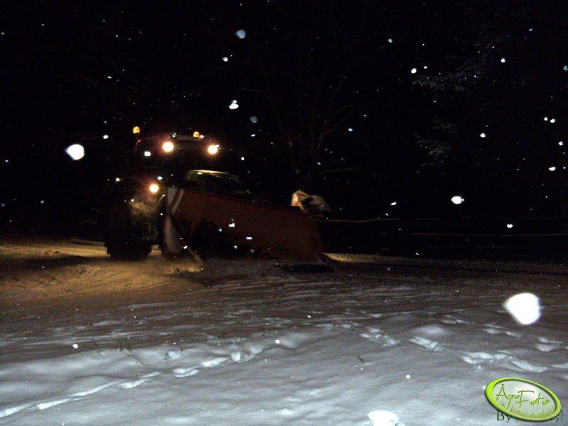 Fendt 936 Vario + pług śnieżny
