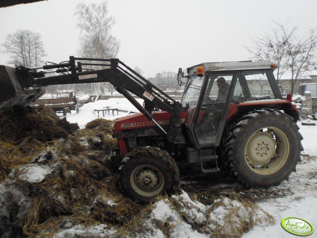 Ursus 914 Bison + TUR 5