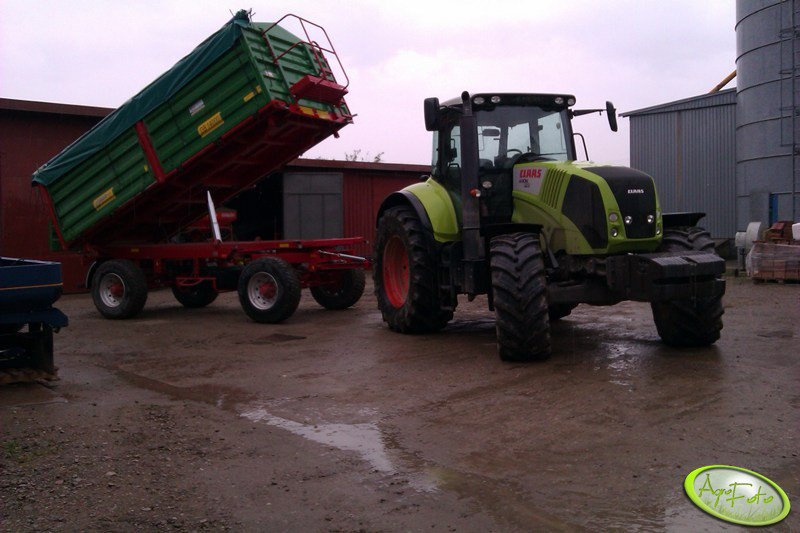 Claas Axion 810 + DB 14