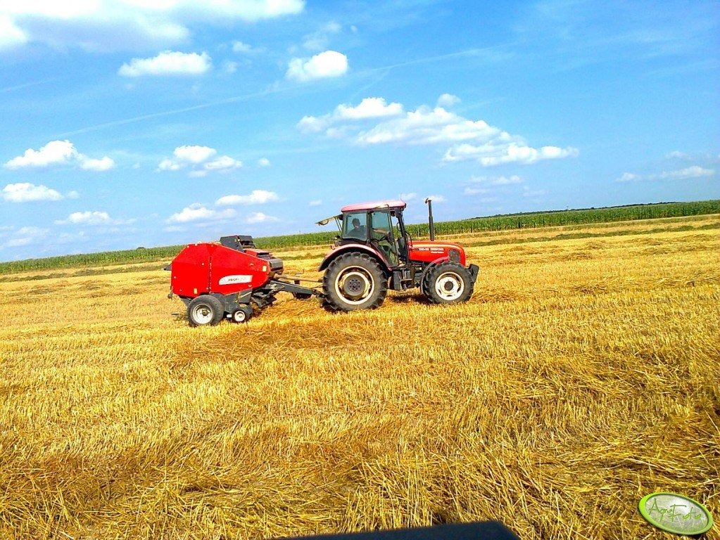 Zetor 7341 + Pottinger Rollprofi