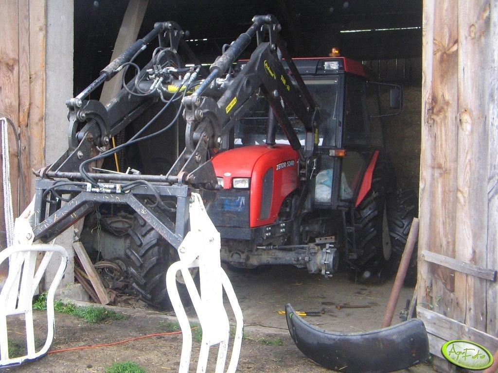 Zetor 5340 + Hydramet 16