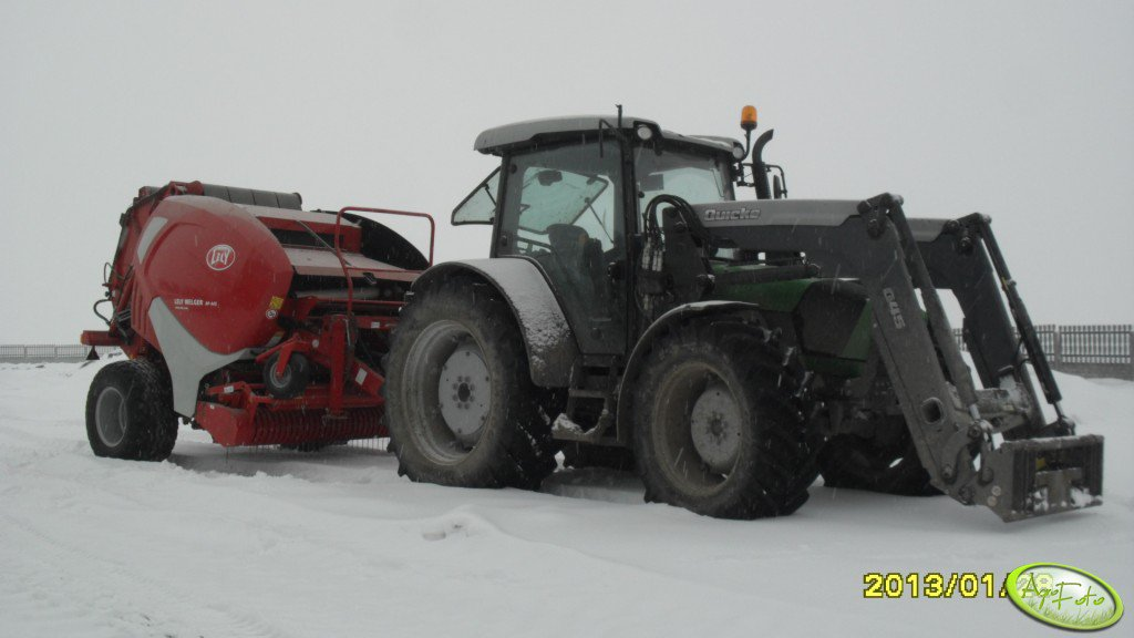 DF Agrofarm 430PL + Lely 445 17xc