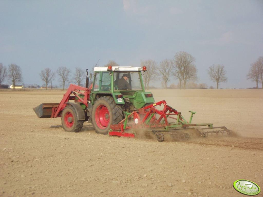 Fendt Farmer 306 LSA + Mailleux i Rolmasz Kutno Ares L/S