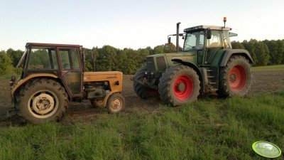Ursus C-360 + Fendt Favorit 824