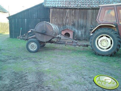 Wózek do transportu wała