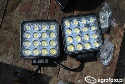 Lampy LED 48W rozpraszające