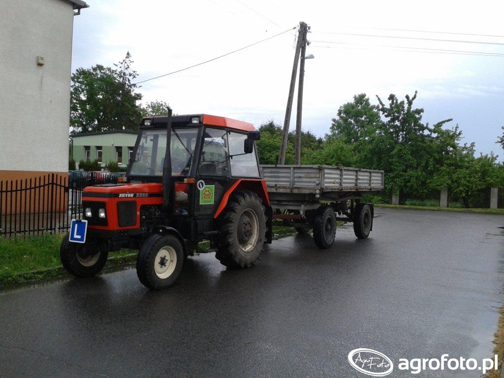 Zetor 3320 + Autosan D-55