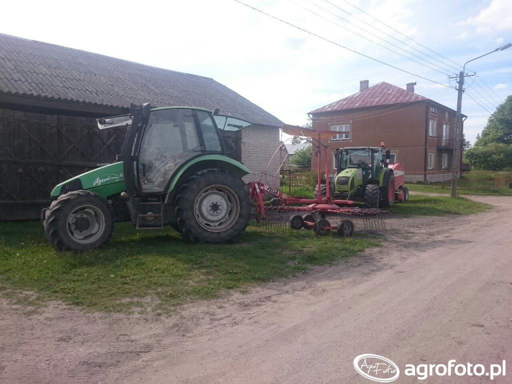Deutz-Fahr and Claas