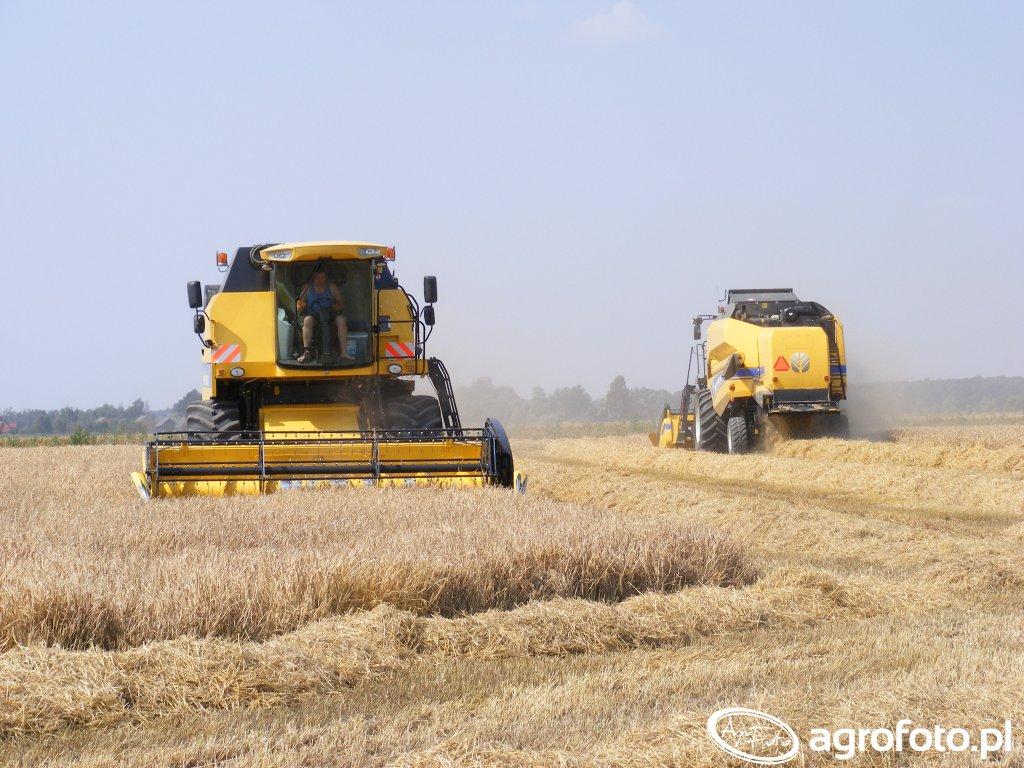 New Holland TC 5070 & TC 5.80