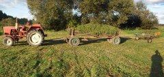 T-25, wóz i przegrabiarka gwiazdowa