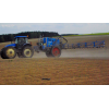 New Holland TD 5050 Plus High Clearance & lemken  primus 35