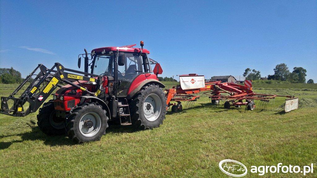 Pronar 5135 & LC3 i Kuhn GA7302 DL