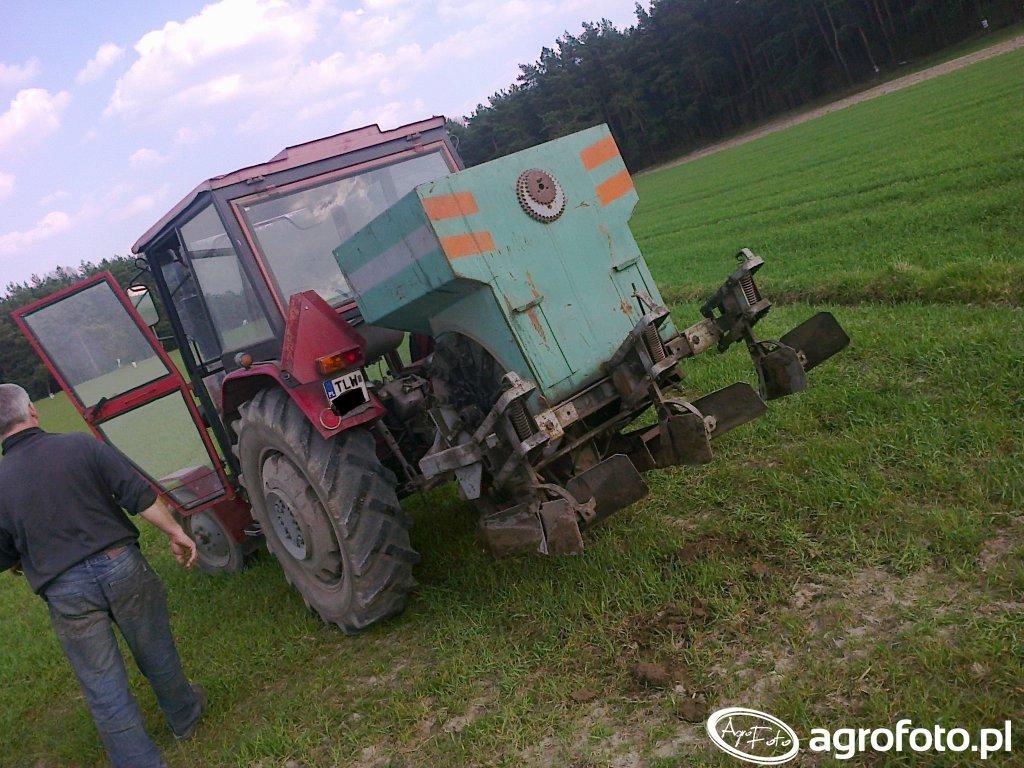 Ursus C-330 + Sadzarka do ziemniaków
