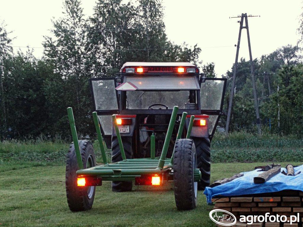 Wóz i Ursus C-360