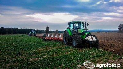 Orka 2015 - Deutz-Fahr Agrotron 6210 C-Shift i Deutz-Fahr Agrotron M620