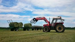 Zetor 7745 + iT1600 + Laweta + PTS