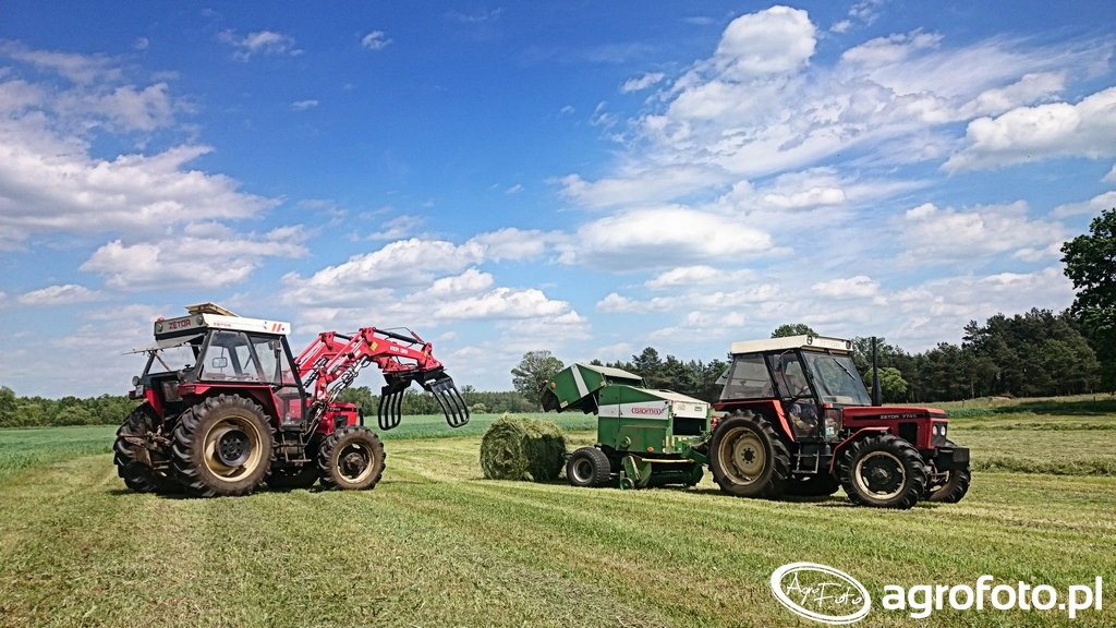 Zetor 7745 + iT1600 & Zetor 7745 + Sipma Farma II